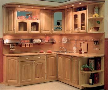 Кухни из дерева киев